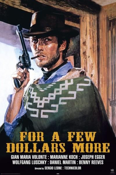 Poster FÖR EN HANDFULL DOLLAR, 1964
