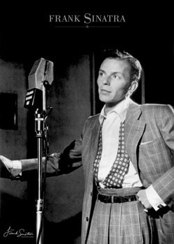 Poster Frank Sinatra – young