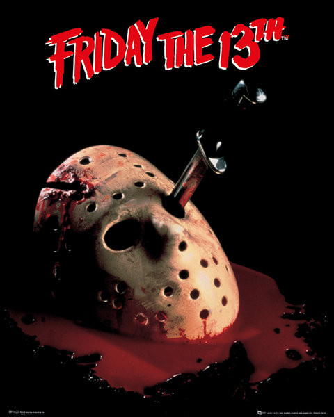 Poster Friday the 13th - mask