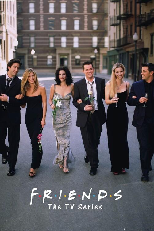 Póster Friends - Series de Televisión