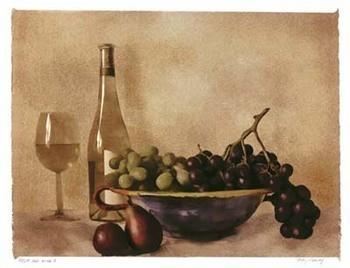 Fruit And Wine I Kunstdruck