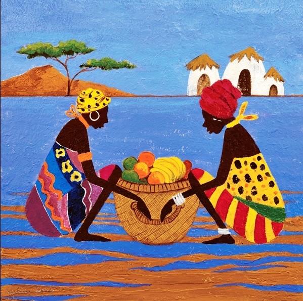 Fruit Basket Kunstdruck