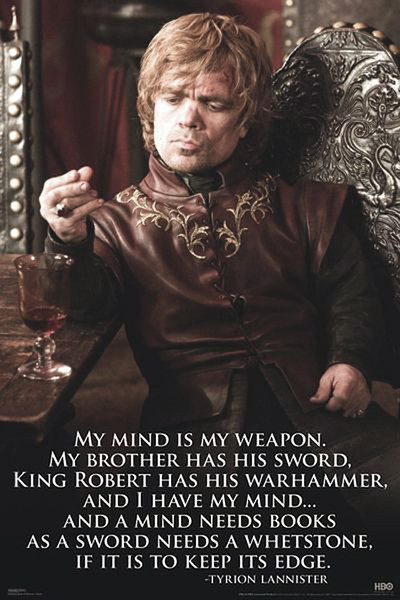 Poster Game of Thrones - Tyrion Lannister