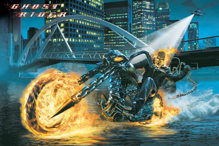 Poster GHOST RIDER - riding