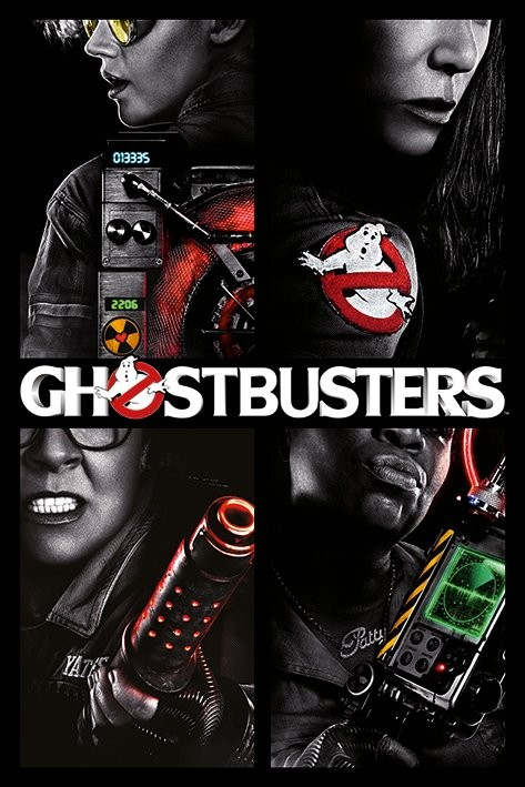 Poster Ghostbusters 3 - Girls