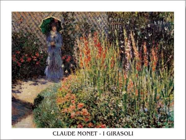 Gladioli Kunstdruck