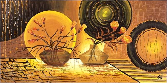 Poster Golden Beam