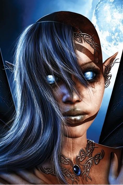 Poster Gothfae - ravnheart