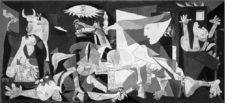 Konsttryck Guernica, 1937