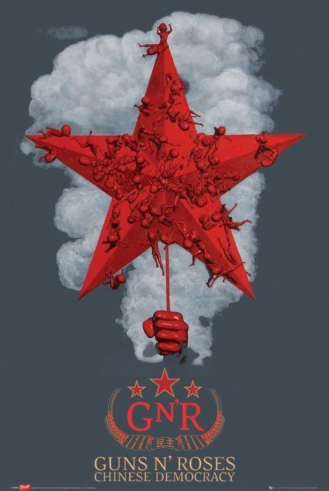 Poster Guns'n'Roses - Chinese