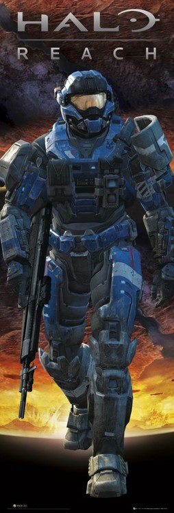 Poster Halo - reach carter