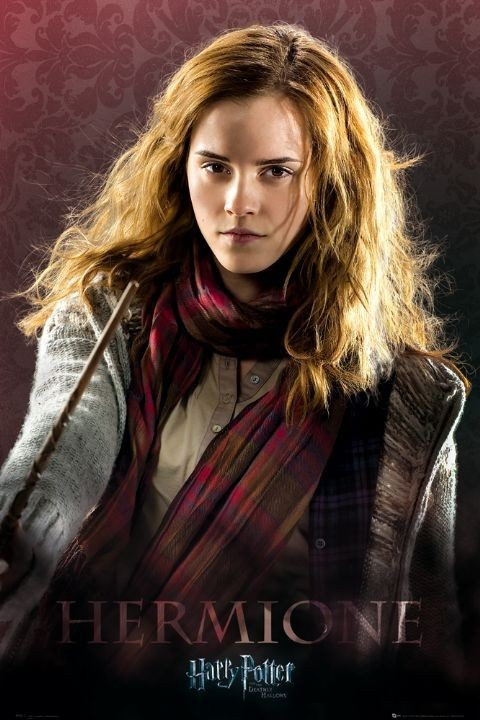 Poster HARRY POTTER 7 - hermione