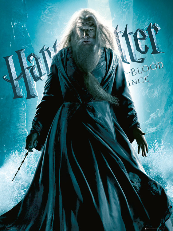 Poster Harry Potter och halvblodsprinsen - Albus Dumbledore Standing