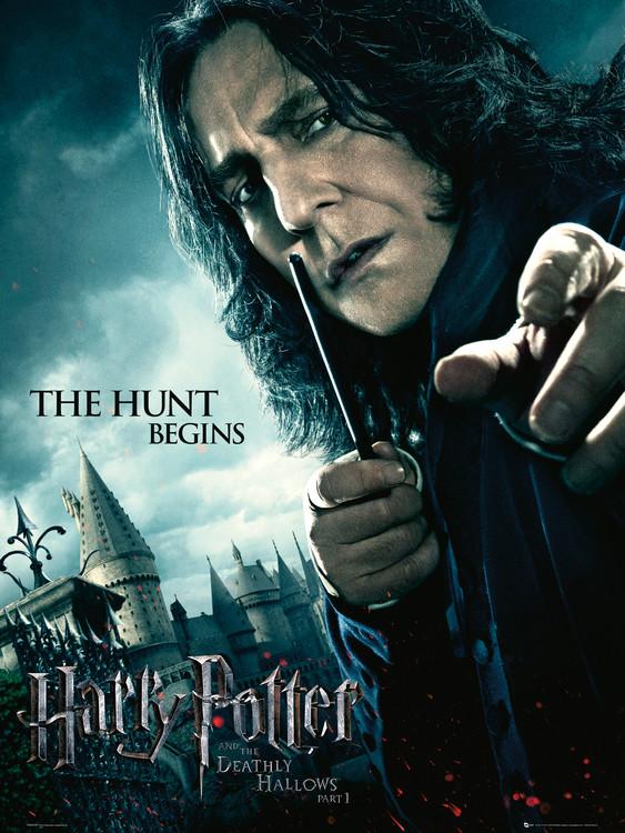 Harry Potter und die Heiligtümer des Todes, Teil 1 - Severus Snape Kunstdruck