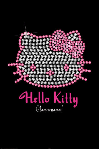 HELLO KITTY - bling Poster