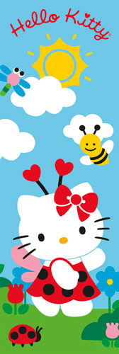 Poster HELLO KITTY - blue