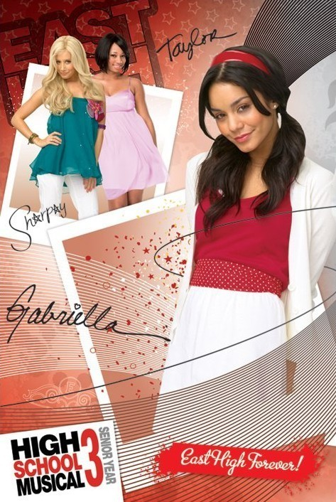 Poster HIGH SCHOOL MUSICAL 3 - gabriella
