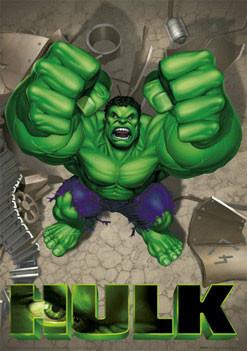 Poster HULK - rage