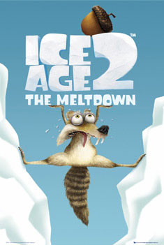 Poster ICE AGE 2 - scrat