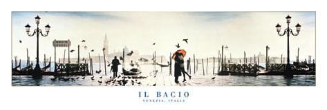 Poster Il Bacio - venezia, italy