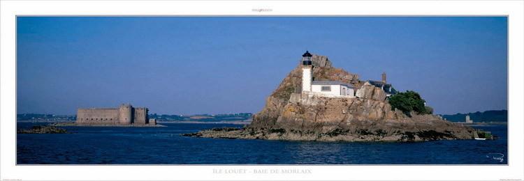 Ile Louët - Baie de Morlaix Kunstdruck