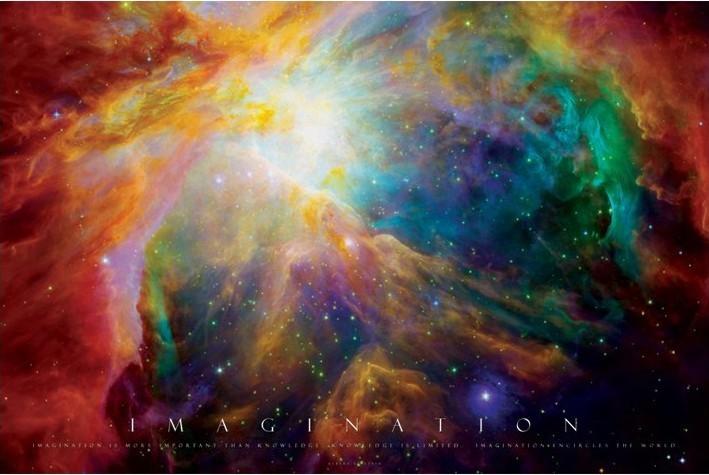 Poster  Imagination - nebula