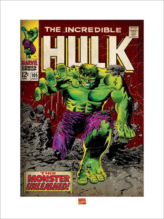 Incredible hulk Kunstdruck