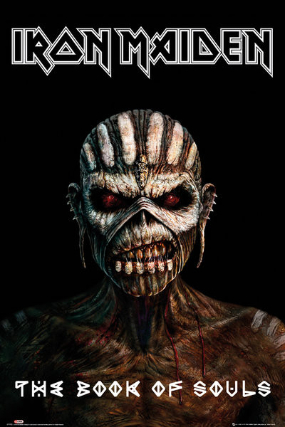 Poster Iron Maiden - The Book Of Souls