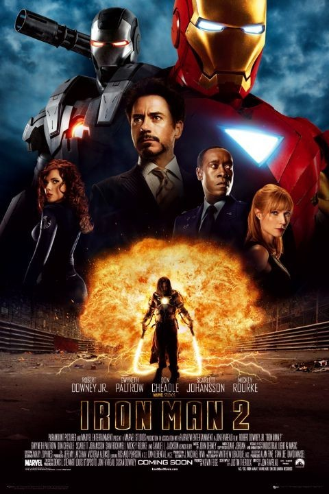 Poster IRON MAN 2 - one sheet