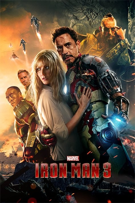 Poster IRON MAN 3 - one sheet