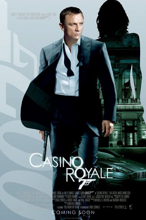 Poster JAMES BOND 007 - casino royale empire one sheet