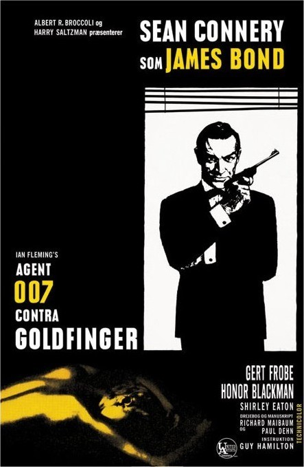 Poster JAMES BOND 007 - goldfinger window