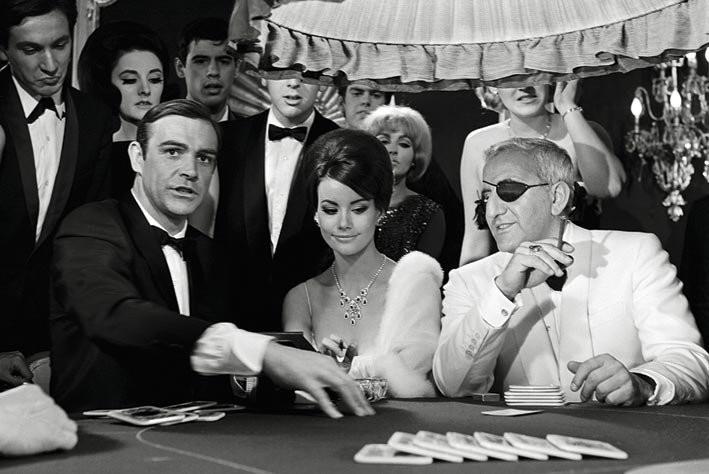 Poster James Bond 007 - lady luck