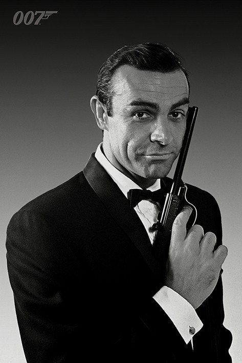 Póster James Bond 007 - The Name Is Bond (Sean Connery)