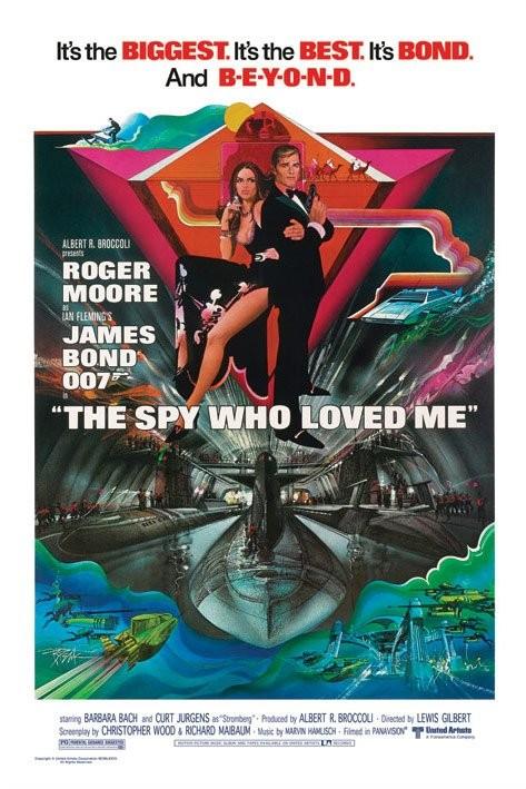 Poster JAMES BOND 007 - the spy who loved me-submarine