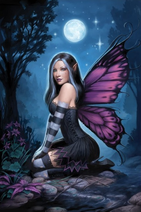 Poster James Ryman - night fairy
