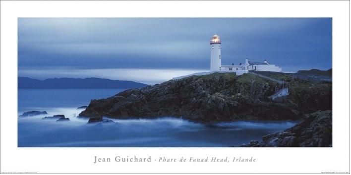 Konsttryck Jean Guichard - Phare De Fanad Head, Irlande