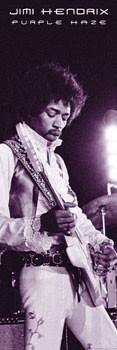 Poster Jimi Hendrix - purple haze