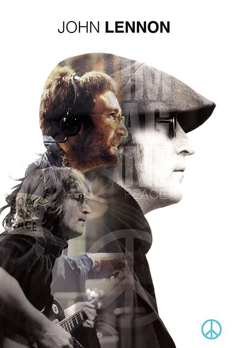 John Lennon - Double Exposure Poster