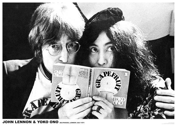 Poster John Lennon & Yoko Ono - London