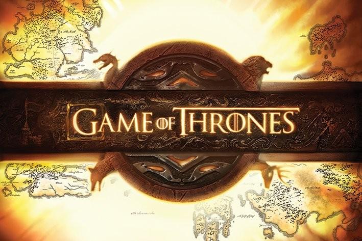 Póster Juego de Tronos - Game of Thrones - Logo
