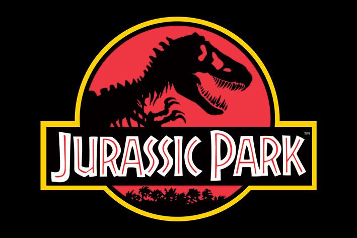 Poster Jurassic Park Classic Logo