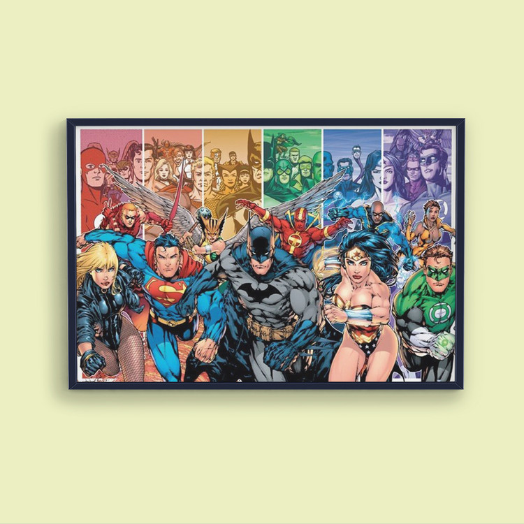 Poster  JUSTICE LEAGUE AMERICA