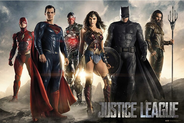 Плакат Justice League - Group