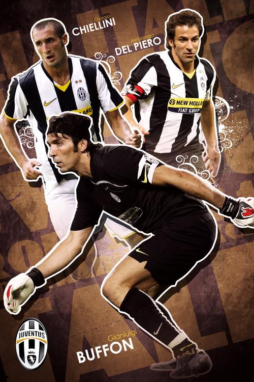 Poster Juventus - trio 09