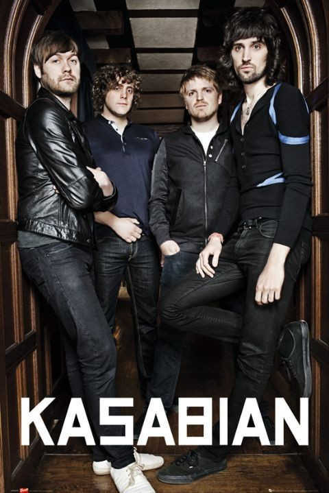 Poster Kasabian - archway