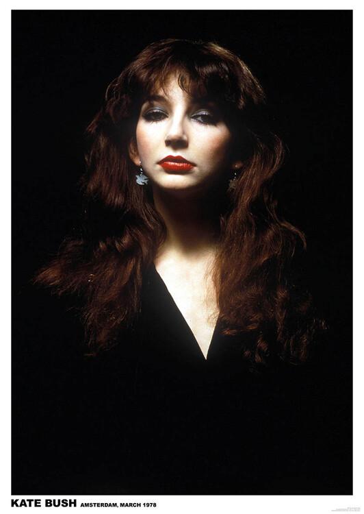 Póster Kate Bush - Amsterdam 1978