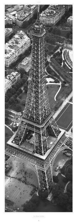 La Tour Eiffel Kunstdruck