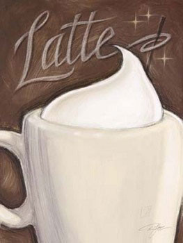 Latte Kunstdruck