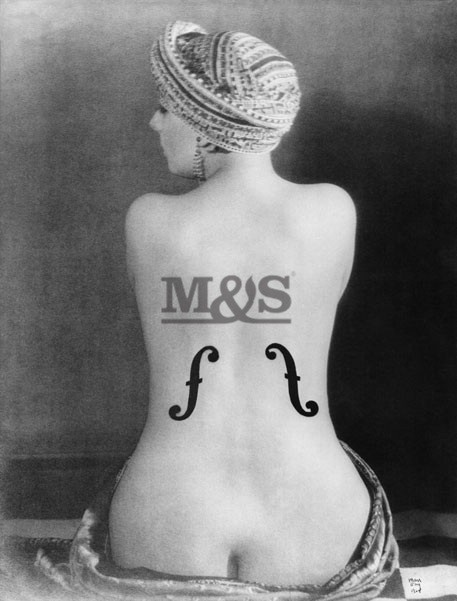 Le violon d'ingres 1924 Kunstdruck